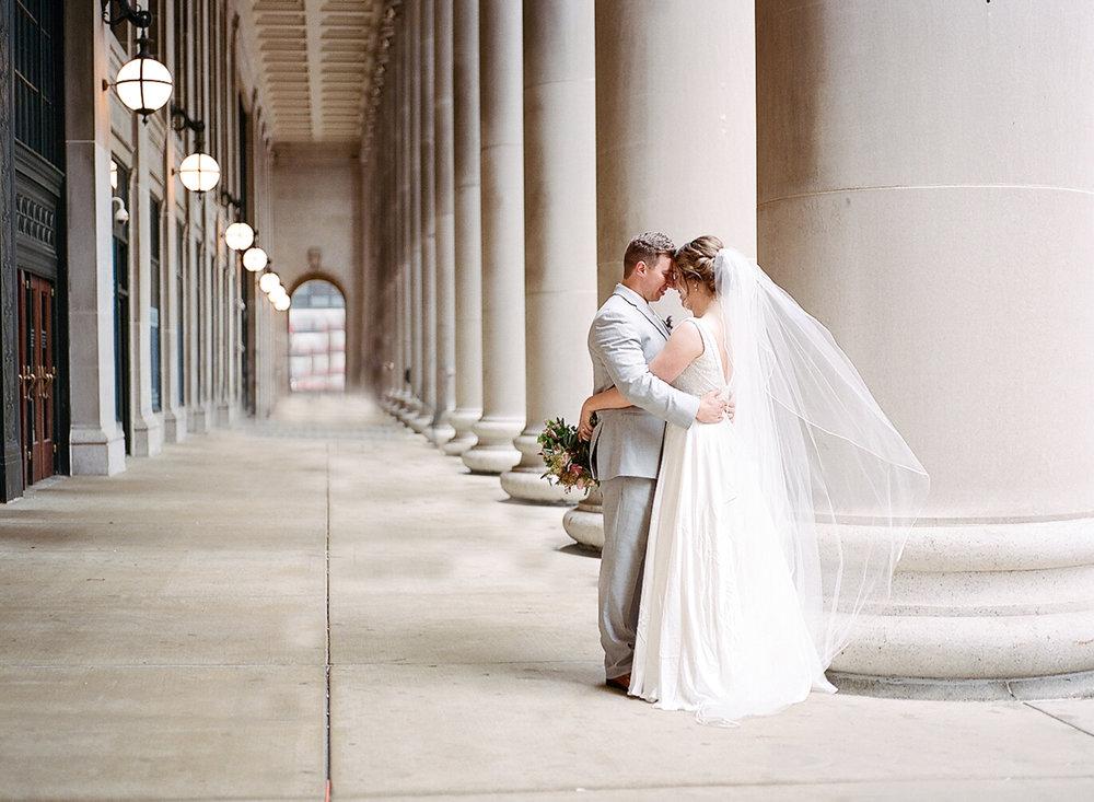 Chicago Fine Art Wedding Photography - Union Station