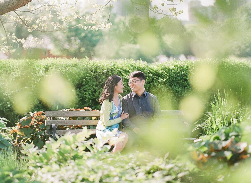 Chicago Fine Art Engagement Photography - Lincoln Park
