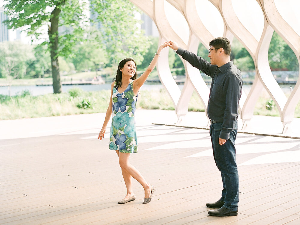 Chicago Fine Art Engagement Photography - Lincoln Park