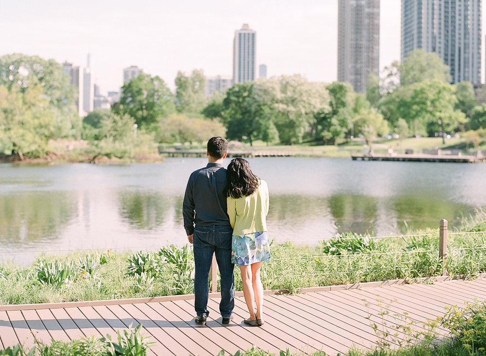 Chicago Fine Art Engagement Photography