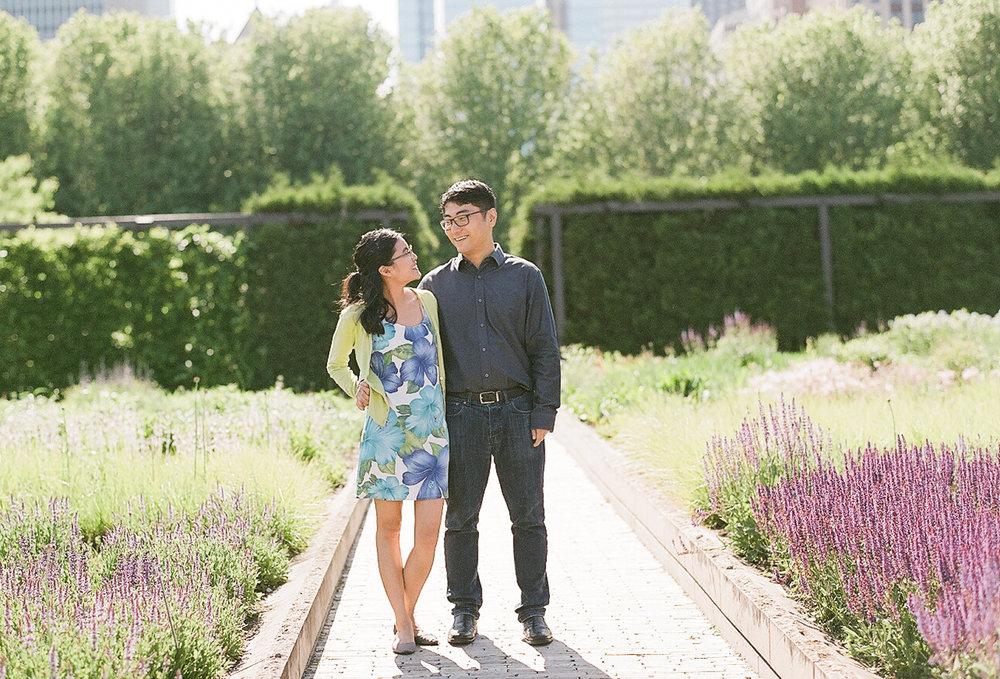 Bonphotage Chicago Film Photography - Millenium Park
