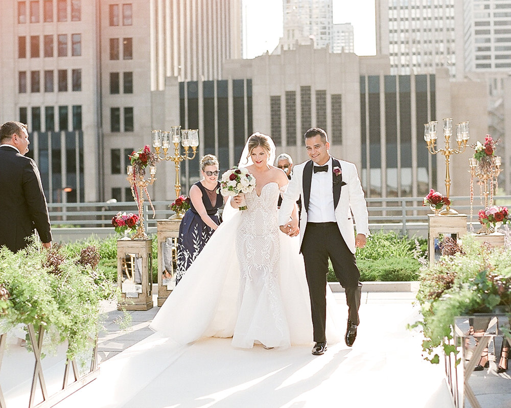 Bonphotage Chicago Loew's Hotel Wedding Photography
