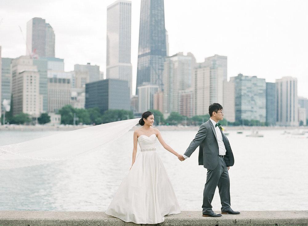 Bonphotage Chicago Fine Art Wedding Photography - Yacht Wedding