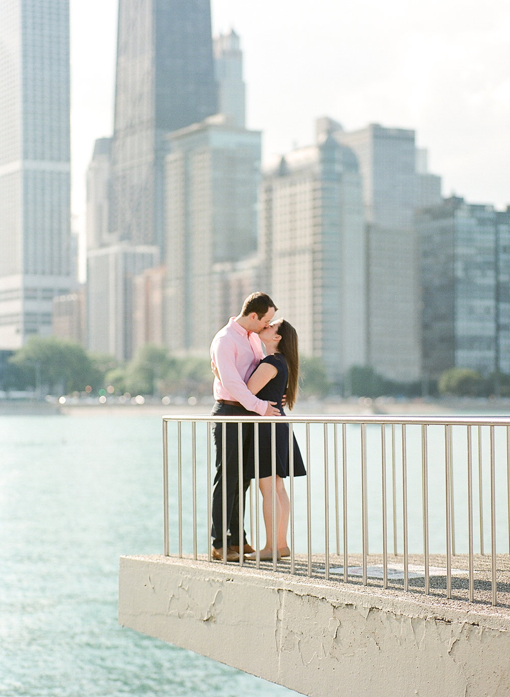 Bonphotage Chicago Fine Art Beach Engagement Photography