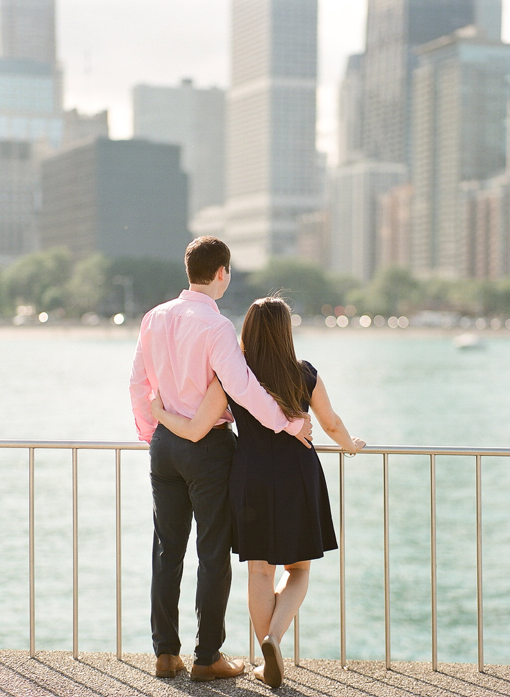 Bonphotage Chicago Fine Art Lake Michigan Engagement Photography