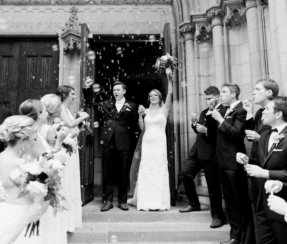 Bophotage Chicago Fine Art Wedding Photography - Fourth Presbyterian Chicago Church