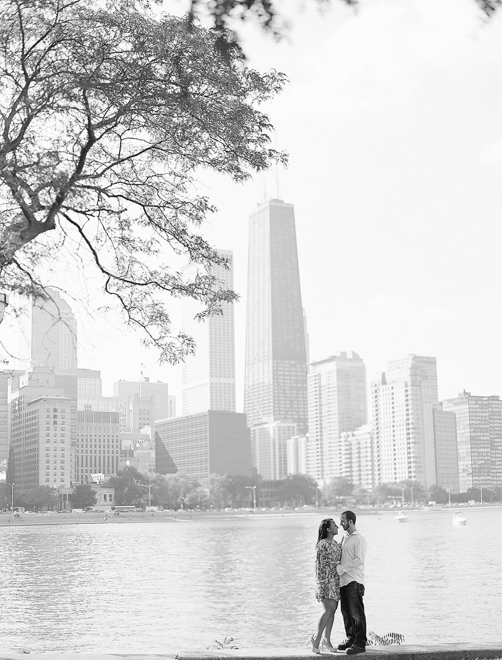 Bonphotage Chicago Fine Art Engagement Photography