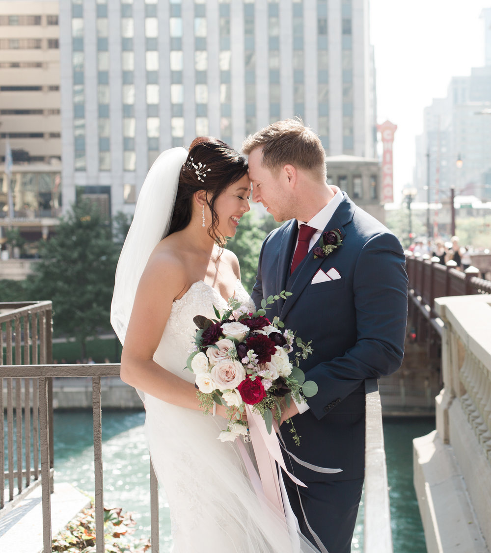 Bonphotage Chicago River Fine Art Wedding Photography