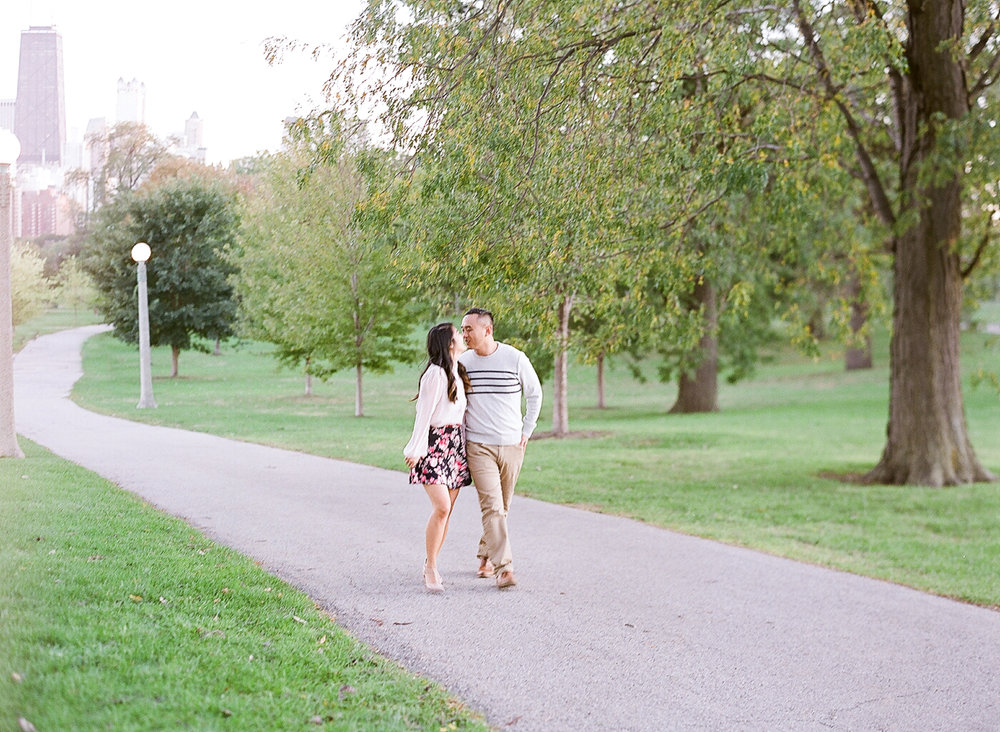 Bonphotage Chicago Fine Art Engagement Photography - Lincoln Park