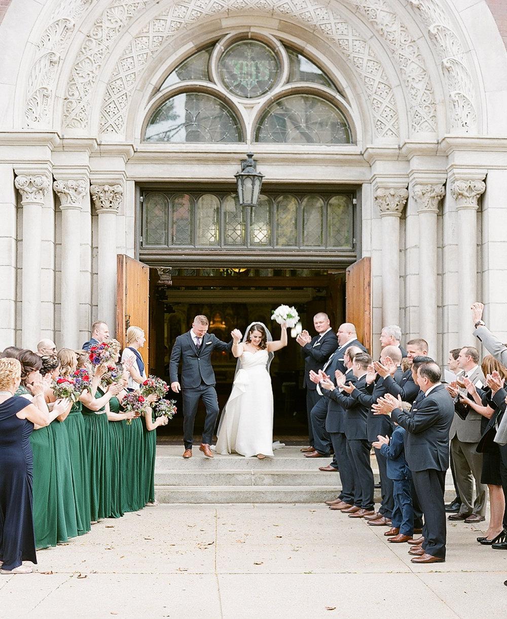 Bonphotage Fine Art Wedding Photography - St. Michael's Church, Old Town Chicago