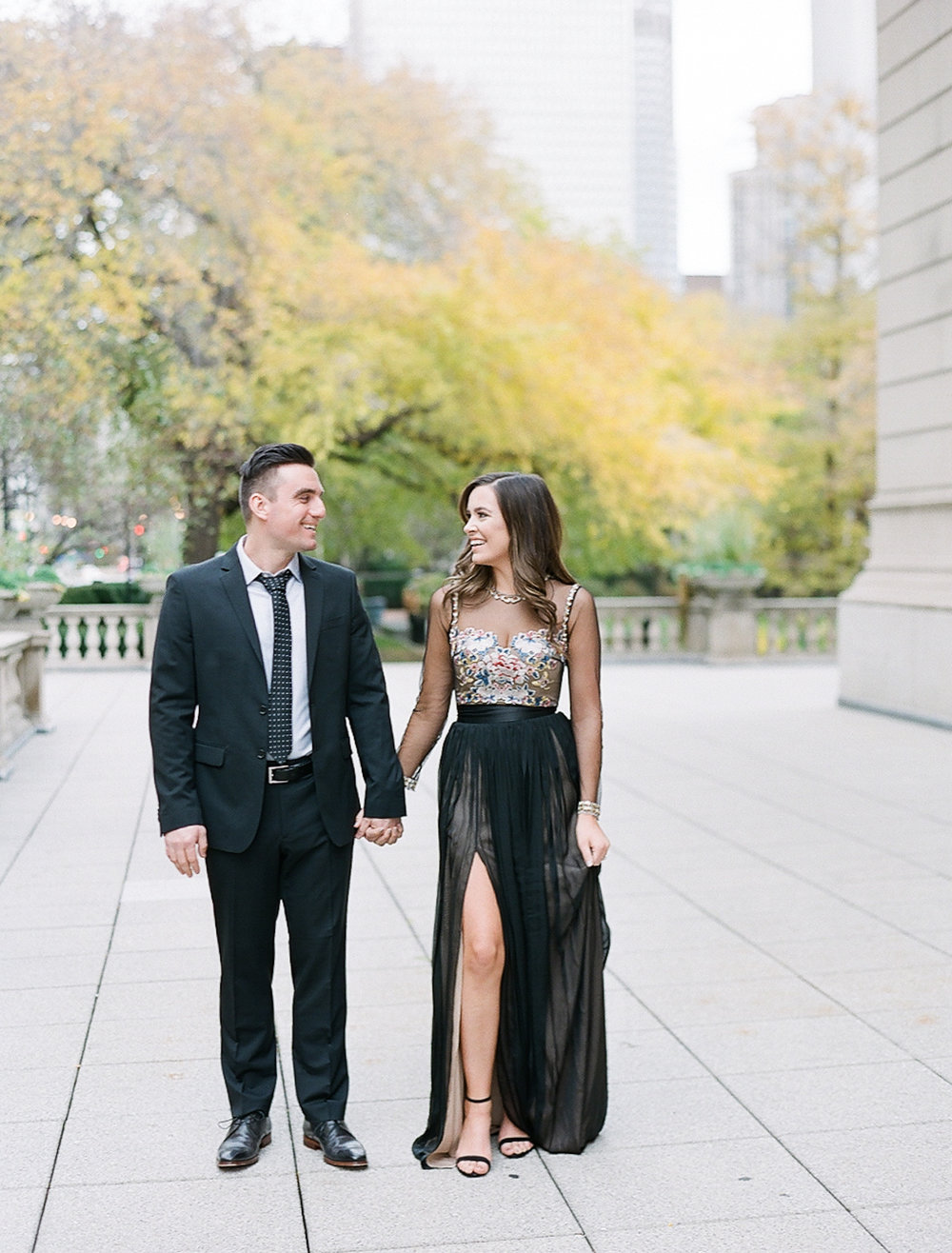 Bonphotage Chicago Fine Art Wedding Photography - Chicago Art Institute
