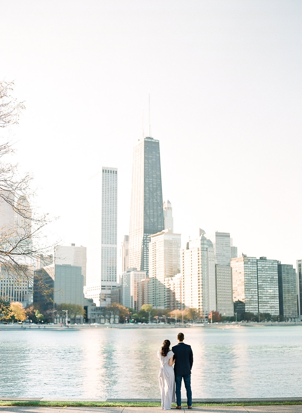 Bonphotage Chicago Fine Art Wedding Photography - Chicago Engagement Session