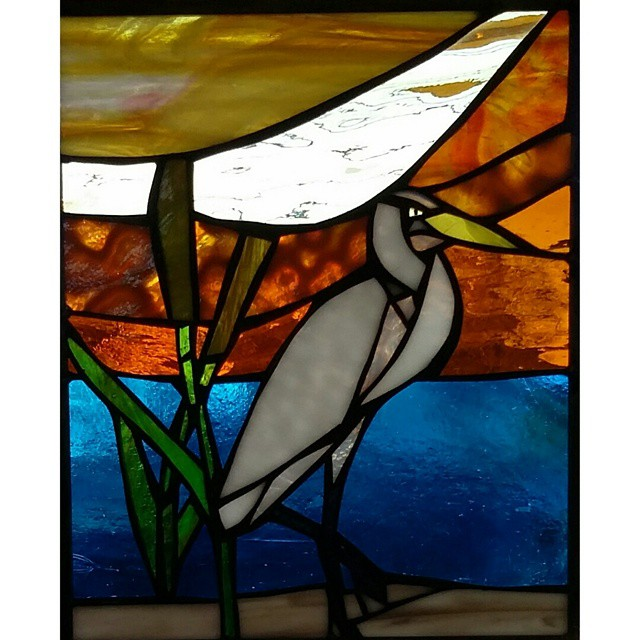 Egret panel.