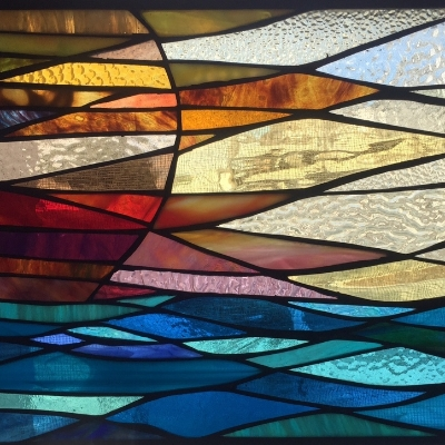 """Come see our latest collection titled """"Origin.""""This is a series of Sun inspired panels representing each day of Spring."""