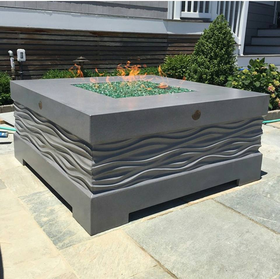 Custom fire pit by HardLife Products