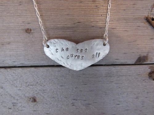 Create a custom metal stamped keepsake, unique just like you!