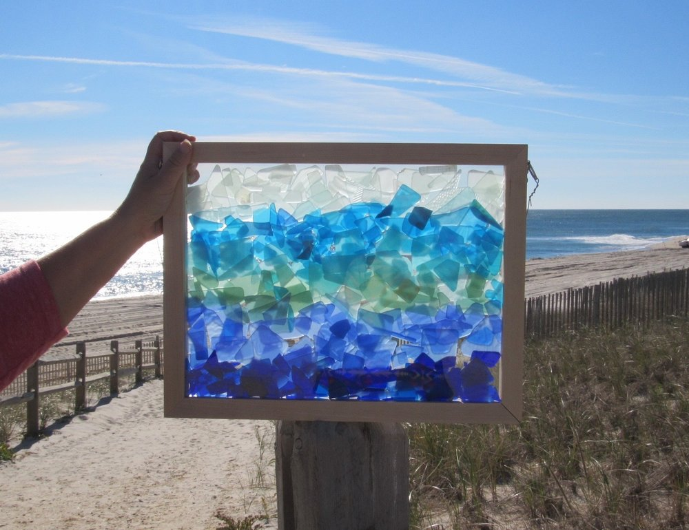 Sea Glass Seascapes Blue Ocean Depths 2.jpg