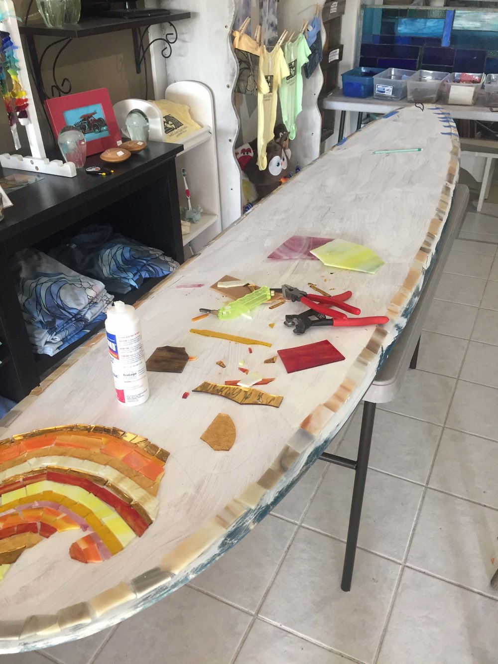 Making Surf Art!