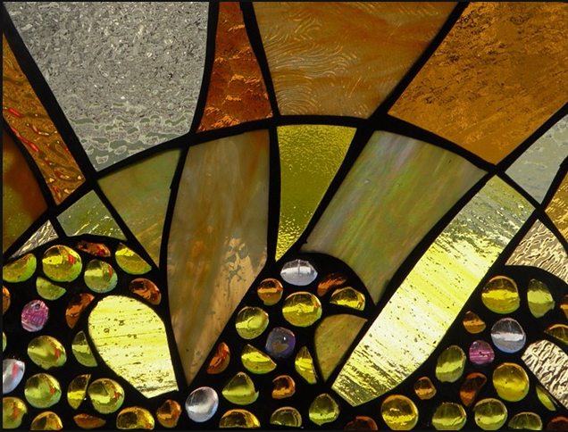 Stained Glass Collection.Winter Sol-2.12-Amarillo Rayo del Sol