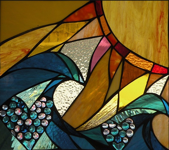 Stained Glass Collection.Winter Sol-2.14-Two Valentines