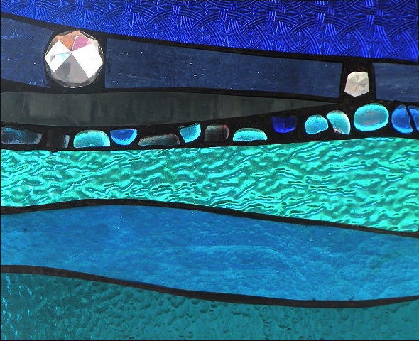 Stained Glass Collection.Winter Sol-3.16-Starry Sea