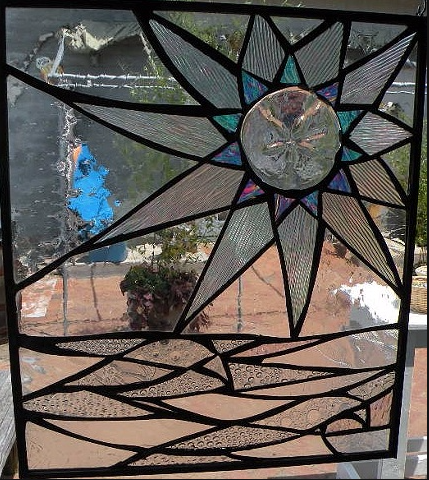 Stained Glass Collection.Primavera-3.25-Sea Flower