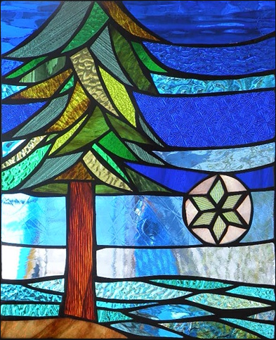 Stained Glass Collection.Primavera-3.31-Evergreen