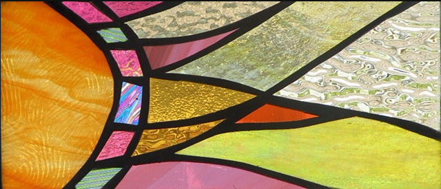 "Primavera Spring Stained Glass Collection by Mary Tantillo. April 7th: ""Dazzle"""