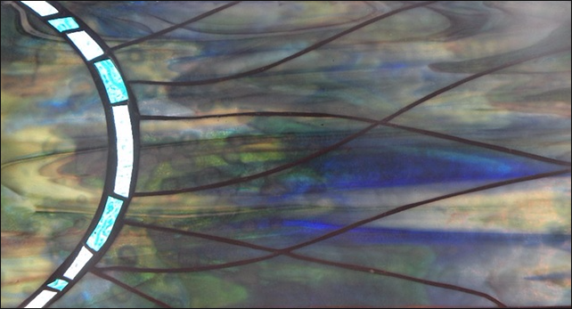 "Primavera Stained Glass Collection by Mary Tantillo. April 8th: ""Ocean Energy"""