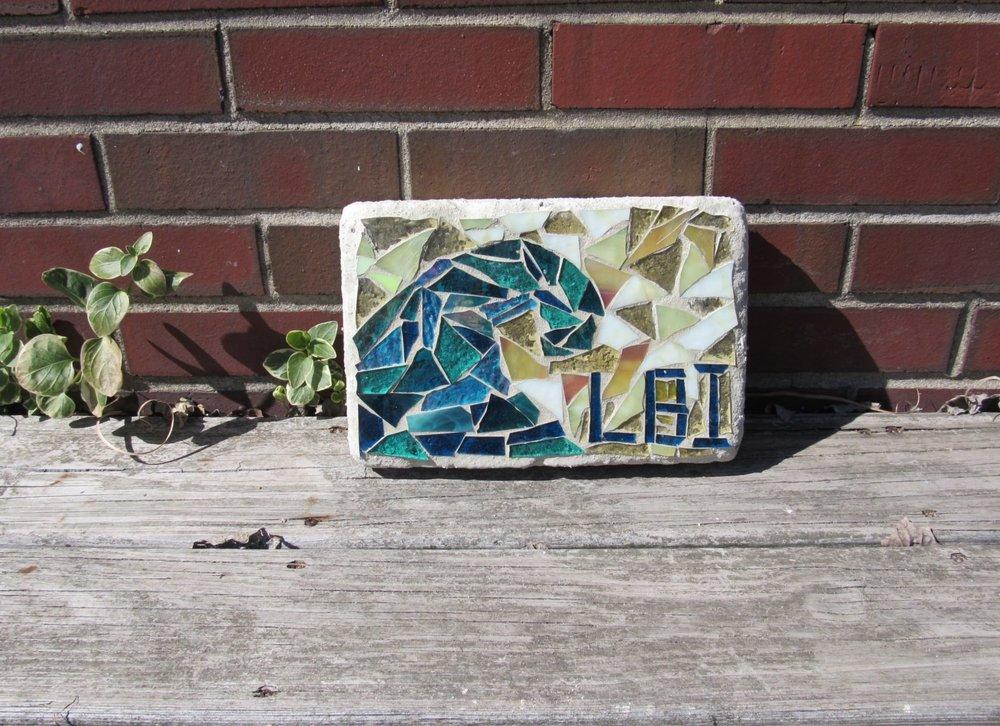 SwellColors Drop In Mosaic Garden Brick Class 1