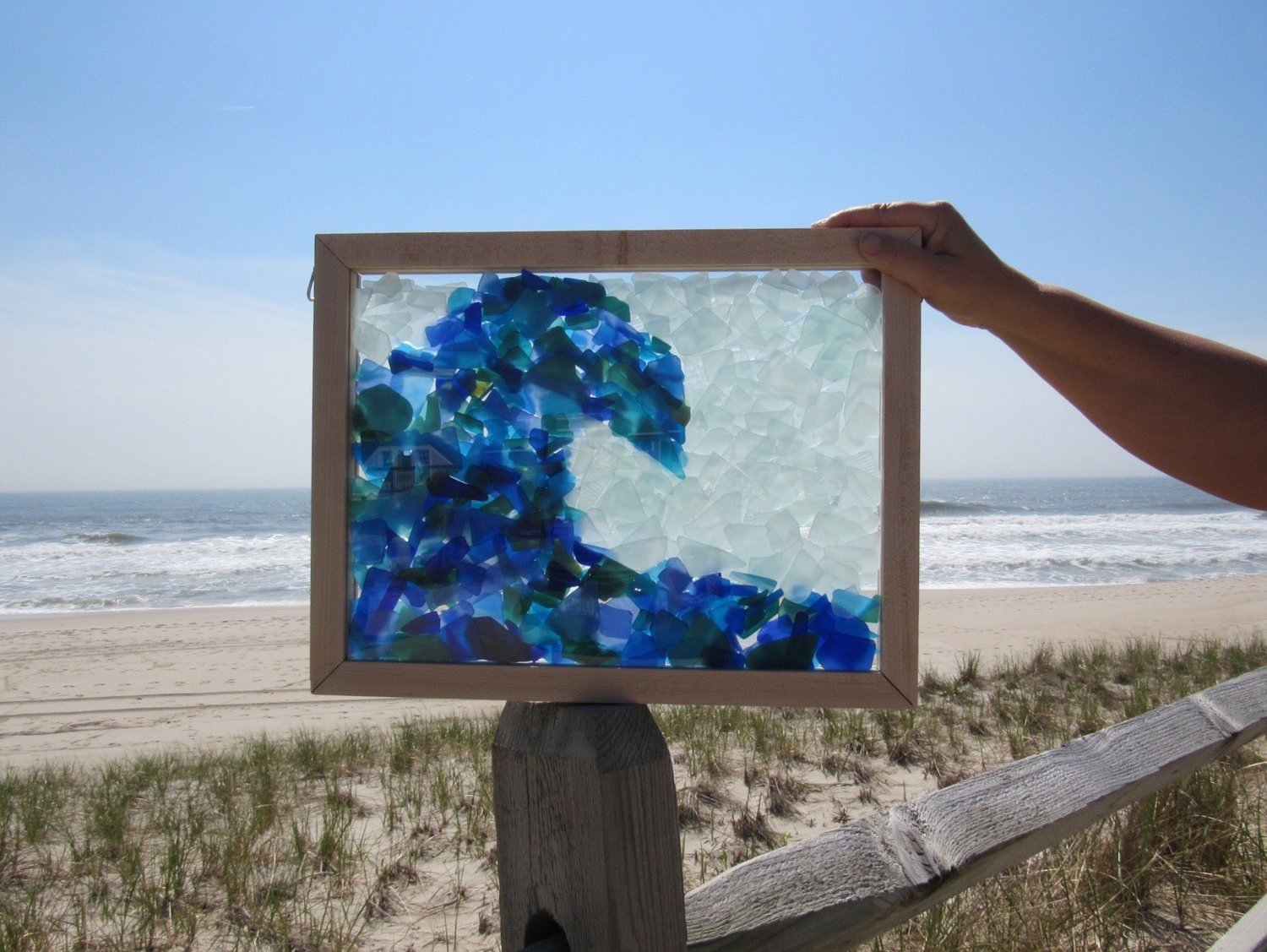Sea Glass Inspired Seascapes- Crested Wave — SwellColors Glass ...