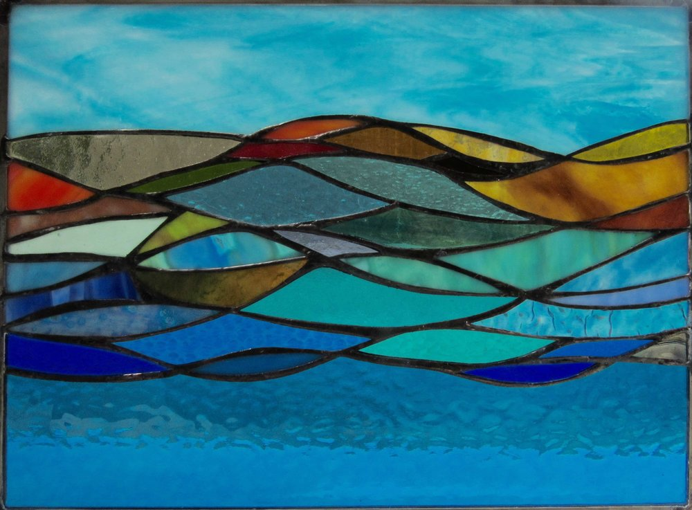 Stained Glass Collection. Origin-5.5 - Stream Of Light