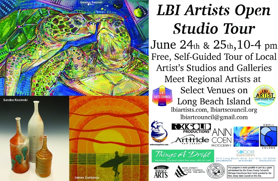 LBI Art Council 2017 Open Studio Tour Postcard.1