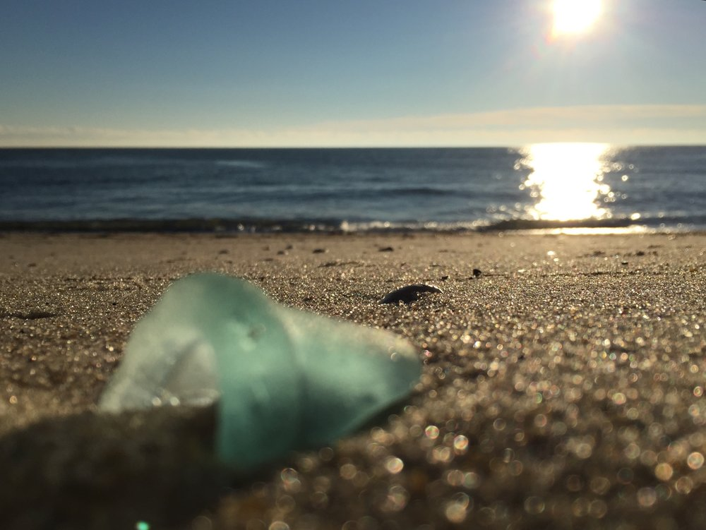 Find an awesome piece of sea glass and bring it to SwellColors to learn how to drill it and turn it into a gorgeous piece of jewelry.