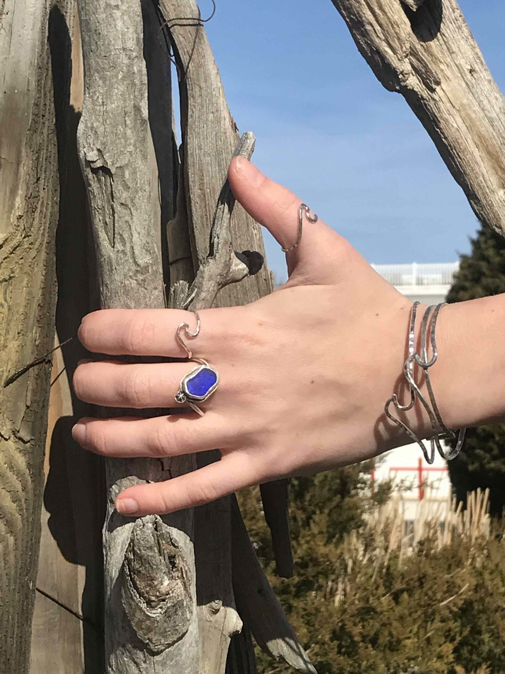 cobalt sea glass split ring 1.jpg