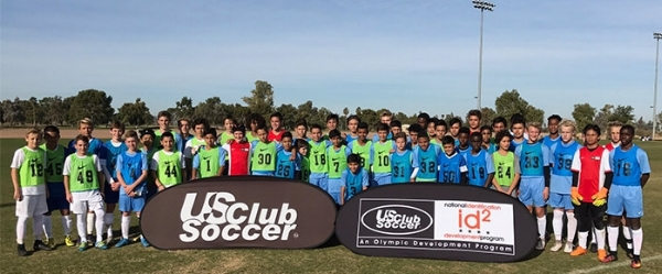 Members of US Club Soccer's 2016 id2 Arizona (Boys) Camp | PHOTO by: US Club Soccer