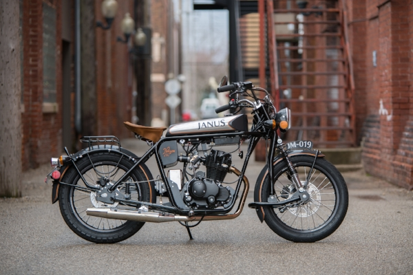 Halcyon 250 Motorcycle Classic Vintage Style Small