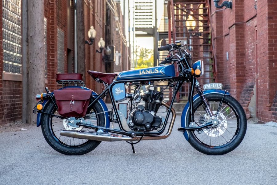 Halcyon 250 Motorcycle Classic Style Small Motorcycle