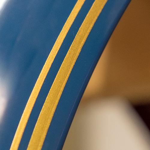 Double Pinstripe Detail