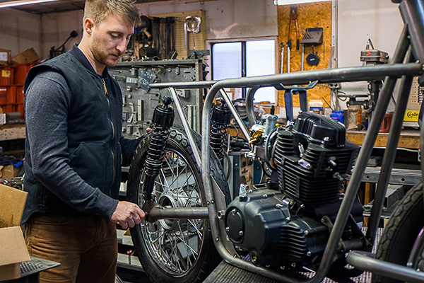Open & Accessible Design - We believe that understanding your motorcycle encourages confidence, which in turn, increases enjoyment. Our open and accessible design allows owners of all skill levels to learn about, maintain, and appropriately care for their motorcycle. More intricate, technologically complex systems may provide significant competitive advantages to the upper echelon of motorcycle racers in the world, but fail to provide more confidence and enjoyment to everyday riders, and in fact alienate new riders or riders looking for appropriate speed and weight for their needs.