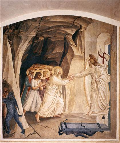 Christ in Limbo, Fra Angelico