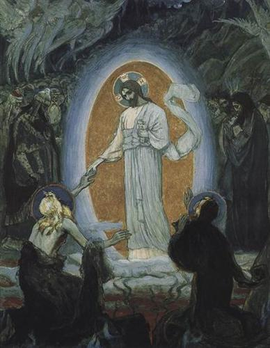 Descent into Hell, C. 1895  Mikhail Nesterov