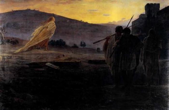 Harbinger of Resurrection , Nikolai Ge, 1867