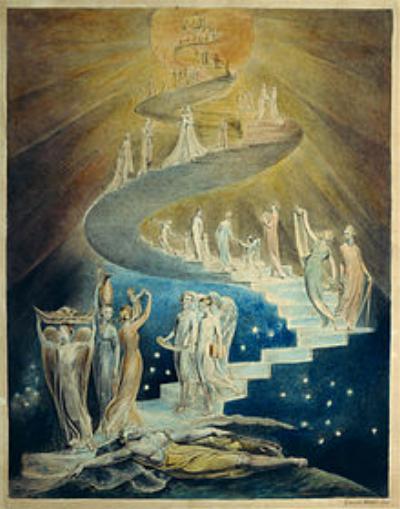 William Blake - Jacob's Ladder.png