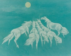 5 Horses JPG heading for the Sun - artist - Copy.jpg