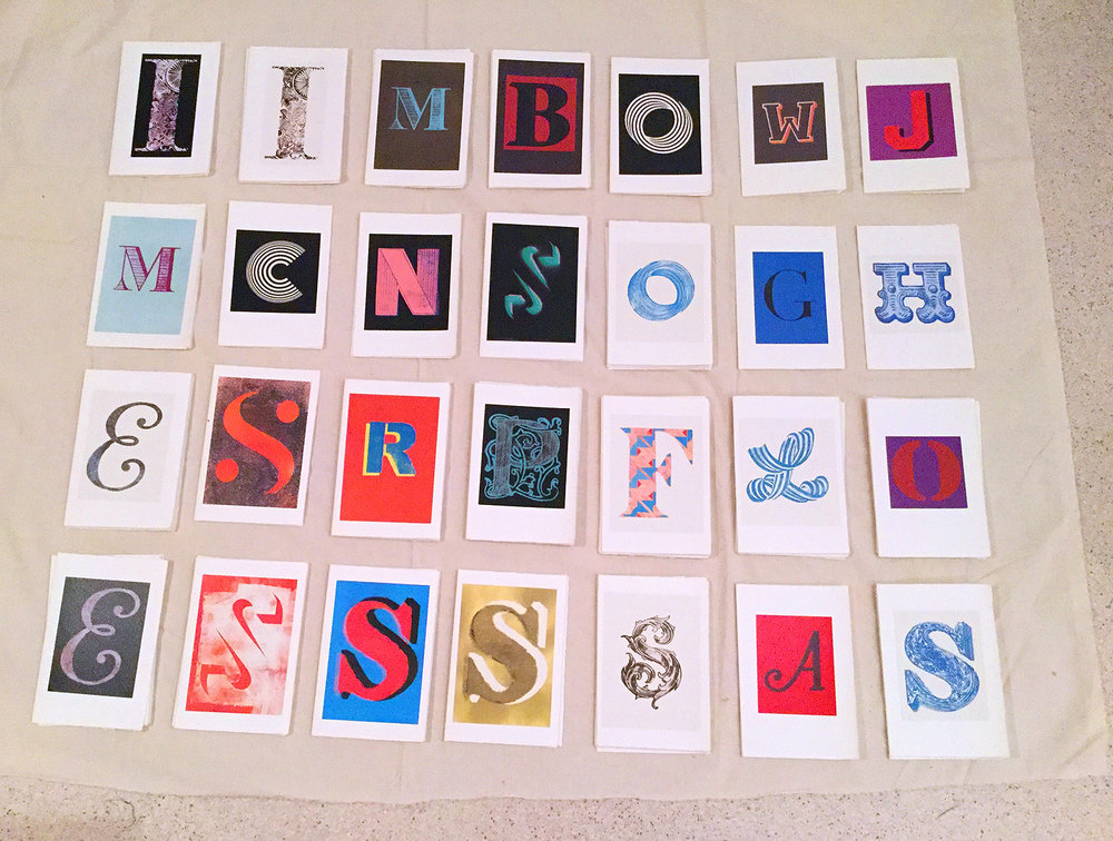 A selection of Letters available