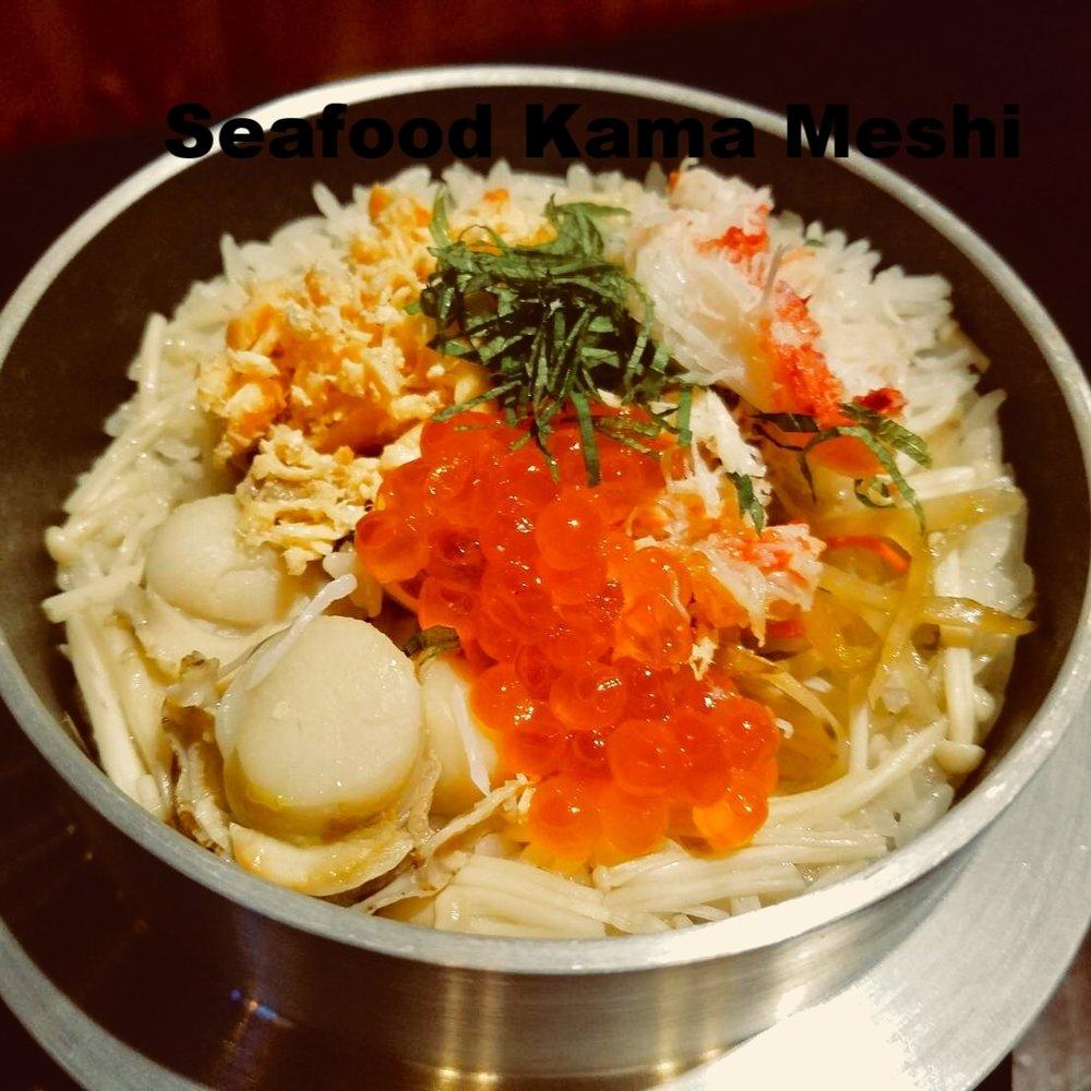 Seafood Kama Meshi