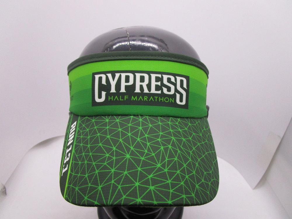 974a115a3812c Cypress Half Marathon Headware — Bayou City Half Marathon Series
