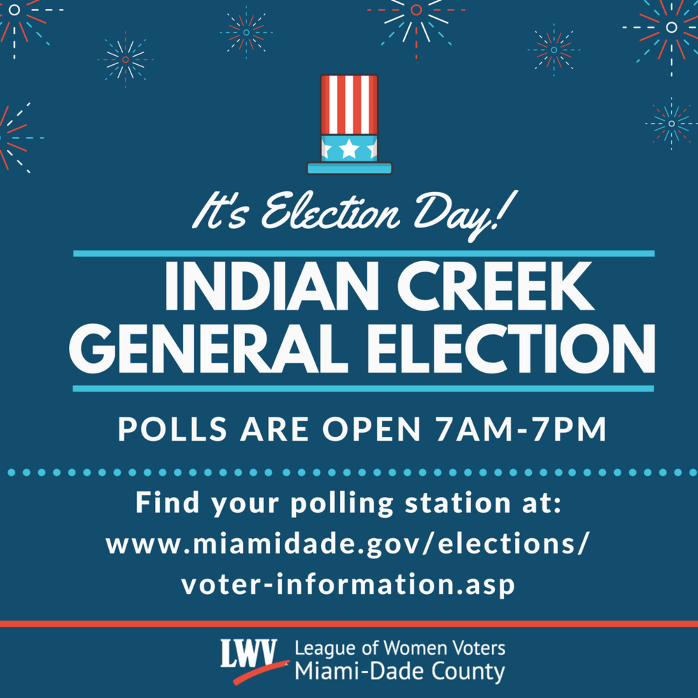 Indian Creek General Election