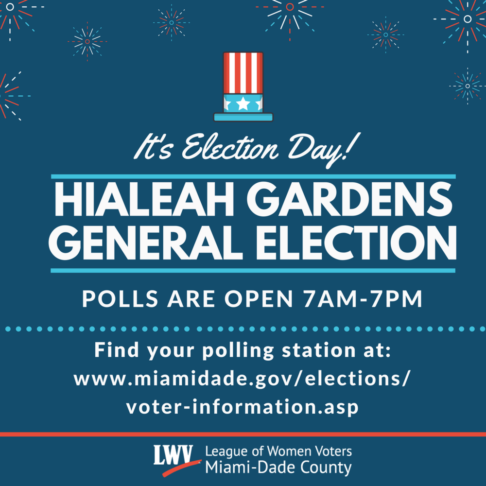 Hialeah Gardens General Election